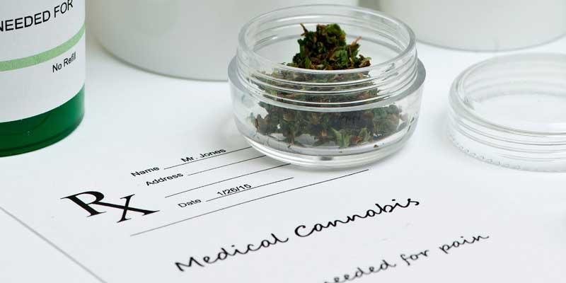 Cannabis professional liability insurance - photo of marijuana prescription and dose